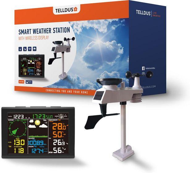 Telldus - Smart Väderstation för 999 kr