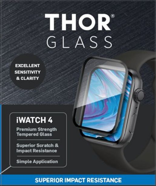 Thor iWatch Series 4 Tempered Glass Protector 40mm för 19 kr