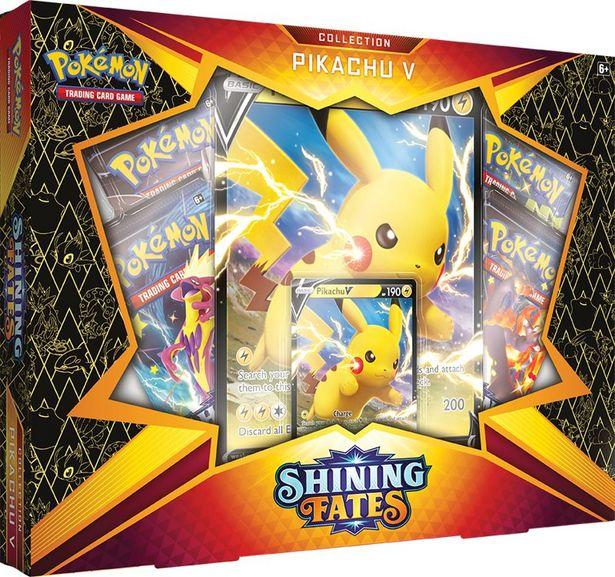 Pokemon Sword & Shield 4.5: Shining Fates Pikachu V Box för 299 kr
