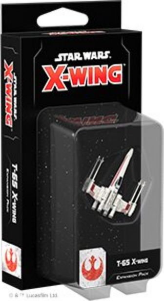 Star Wars X-Wing Second Edition Wave 1 T-65 X-Wing Expansion Pack för 79 kr