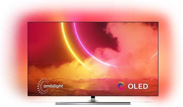 """Philips 2020 55"""" OLED-TV 55OLED855 / Android TV / Ambilight / 4K UHD för 14990 kr"""