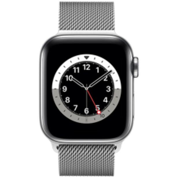 Apple Watch Series 6 stål milanese för 8890 kr