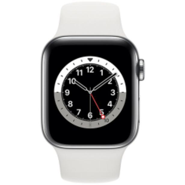 Apple Watch Series 6 stål sport för 7690 kr