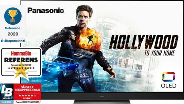 """Panasonic 65"""" HZ2000 OLED 4K SMART-TV TX-65HZ2000E för 37990 kr"""