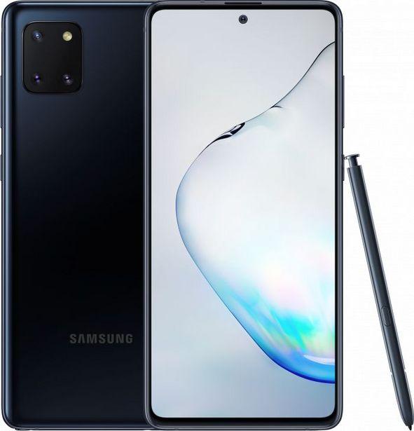 Samsung GALAXY NOTE 10 LITE, SVART för 6790 kr