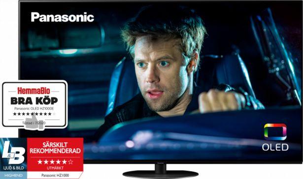 """Panasonic 65"""" HZ1000 OLED 4K SMART-TV TX-65HZ1000E för 27990 kr"""