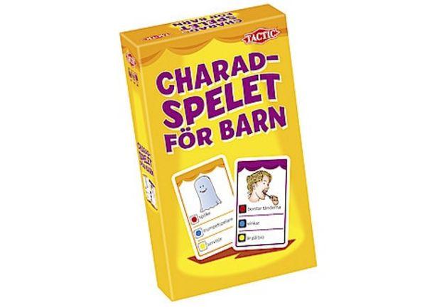 Resespel, Charadspelet för barn för 99,9 kr