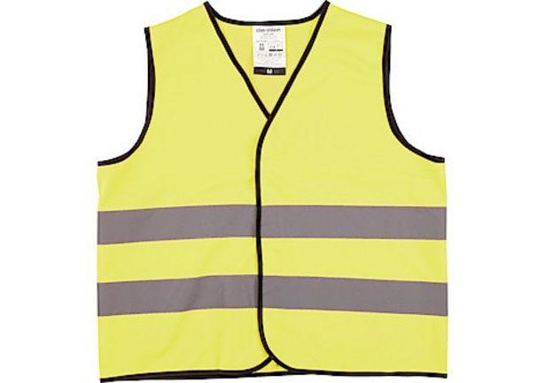 Reflexväst gul, Clas Ohlson för 49,9 kr