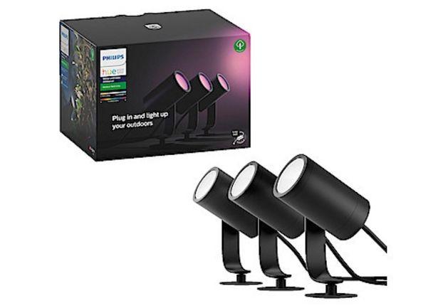 Spotlight Philips Hue Lily Spike, 3-pack för 2399 kr
