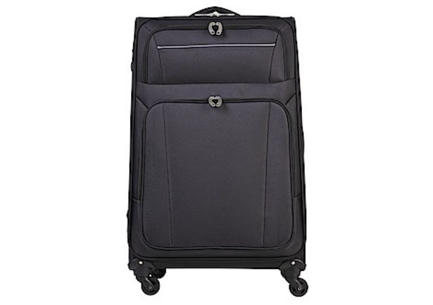 Resväska Asaklitt Lightweight, svart för 699 kr