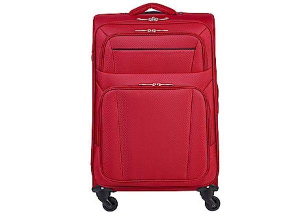 Resväska Asaklitt Lightweight, röd för 399 kr