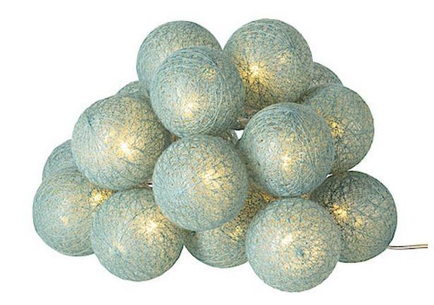 Ljusslinga med bollar, Northlight för 125,93 kr