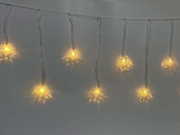 LED-Lampor Cello Snöflinga för 59,5 kr