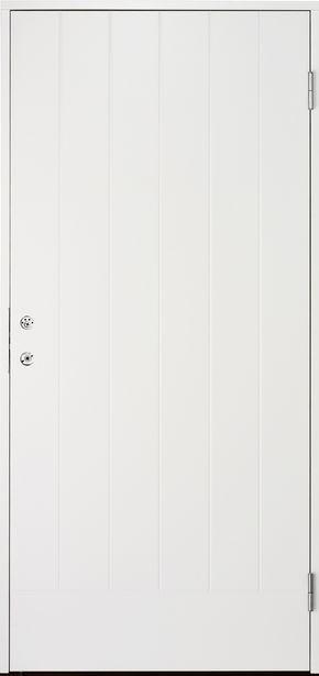 Ytterdörr Cello Vit Tät 10x21 Höger för 2995 kr