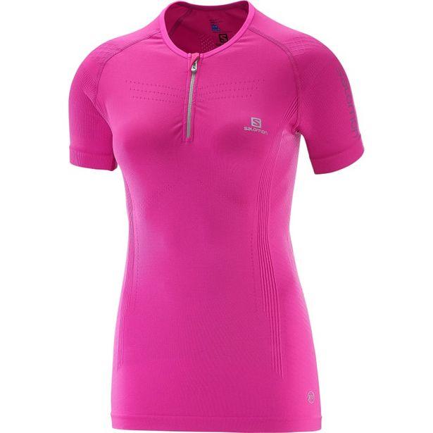 Lightning Pro Shortsleeve Zip Tee Women's Rose Violet för 895 kr