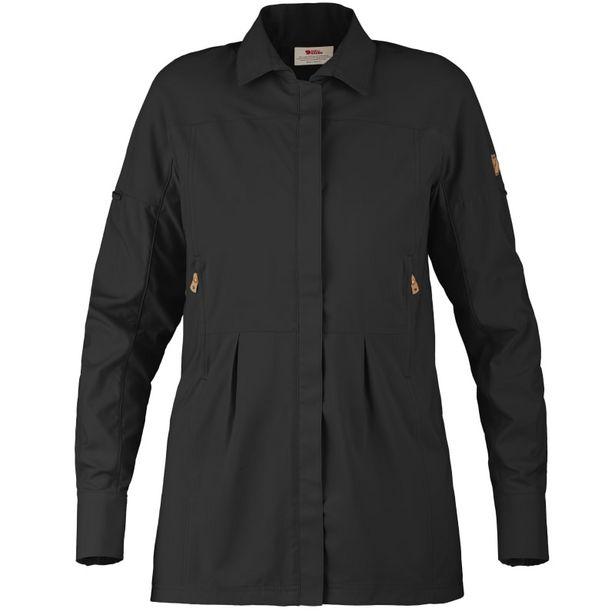 Abisko Sun Shirt Longsleeve Women's Dark Grey för 1495 kr