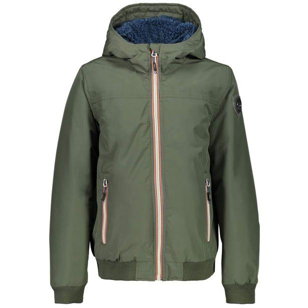 Boy Jacket Fix Hood (38Z1654) Kaki för 1095 kr