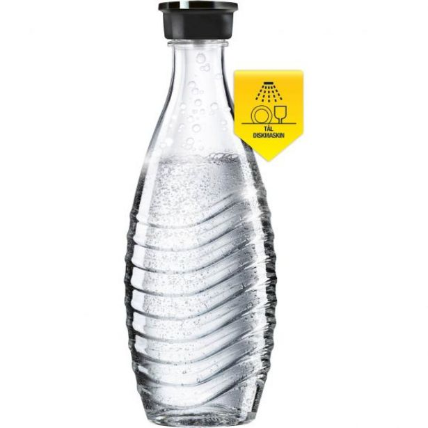 SodaStream Crystal glasflaska för 199 kr