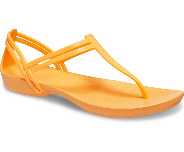 Women's Crocs Isabella T-Strap Sandal för 23,99 kr