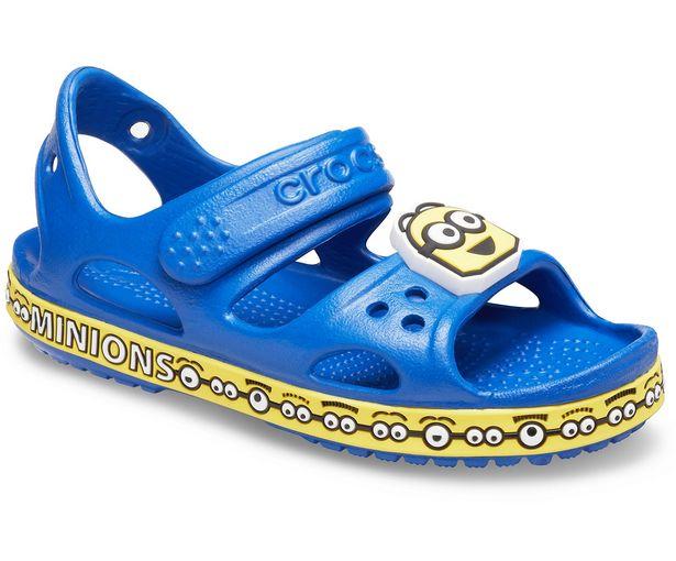 Kids' Crocs Fun Lab Crocband™ II Minions™ Sandal för 24,49 kr