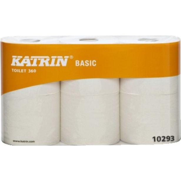 TOALETTPAPPER BASIC 360 KATRIN 360M för 289 kr