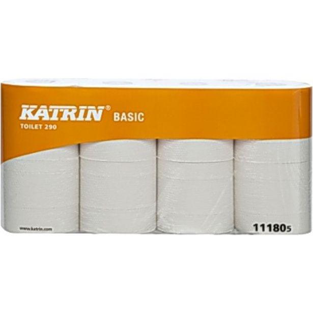 TOALETTPAPPER BASIC 290 KATRIN 290M för 329 kr