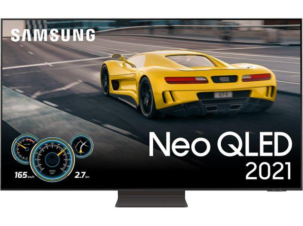 "SAMSUNG QE65QN92AATXXC 65"" 4K Neo QLED Smart-TV 2021 - Carbon Silver för 27990 kr"