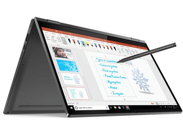 "LENOVO Yoga C640-13IML (81UE000JMX) - 13.3"" 2-i-1-Dator (Inkl. Active Pen) för 9190 kr"