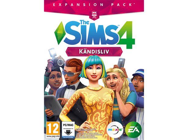 The Sims 4: Kändisliv (Code in a box) PC för 199 kr
