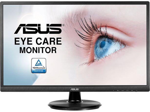 """ASUS VA249HE - 24"""" FHD VA 75 Hz-skärm för 799 kr"""