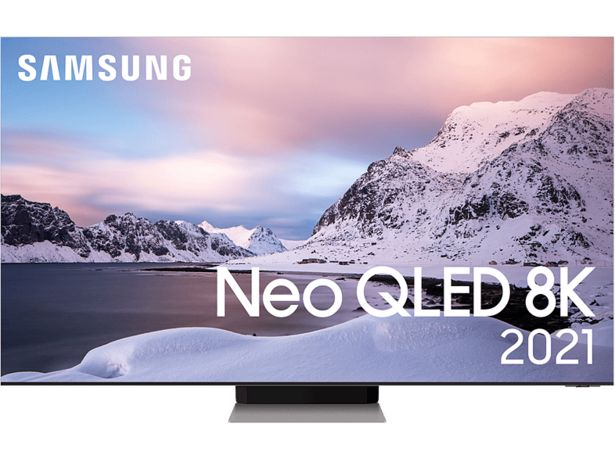 "SAMSUNG QE75QN900ATXXC 75"" 8K Neo QLED Smart-TV 2021 - Stainless Steel för 69990 kr"