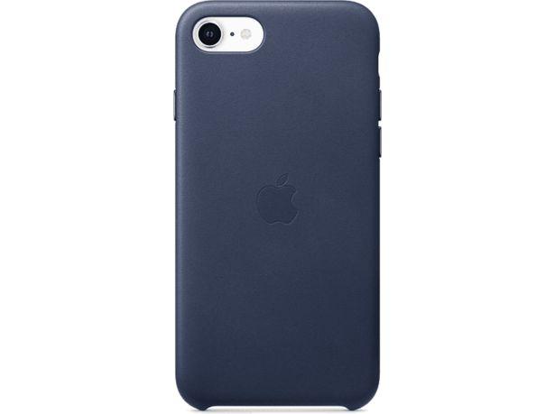 APPLE Läderskal till iPhone SE – Midnattsblå för 299 kr