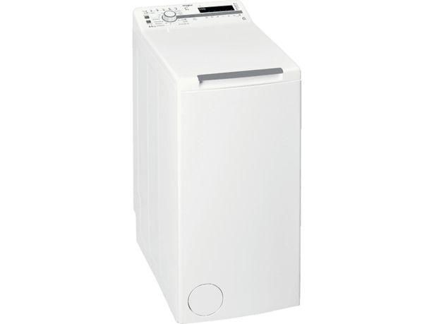 WHIRLPOOL TDLR 65230SS EU/N Toppmatad tvättmaskin 6,5 kg för 4444 kr