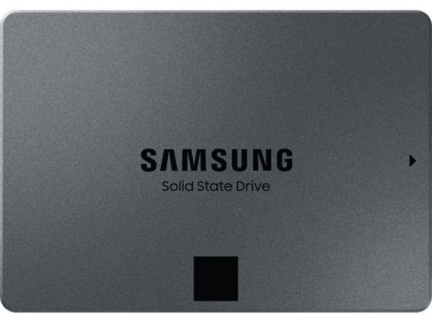 SAMSUNG 870 QVO SSD 4TB - Svart (MZ-77Q4T0BW) för 4190 kr