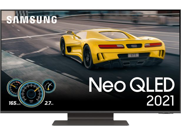 "SAMSUNG QE50QN92AATXXC 50"" 4K Neo QLED Smart-TV 2021 - Carbon Silver för 14990 kr"