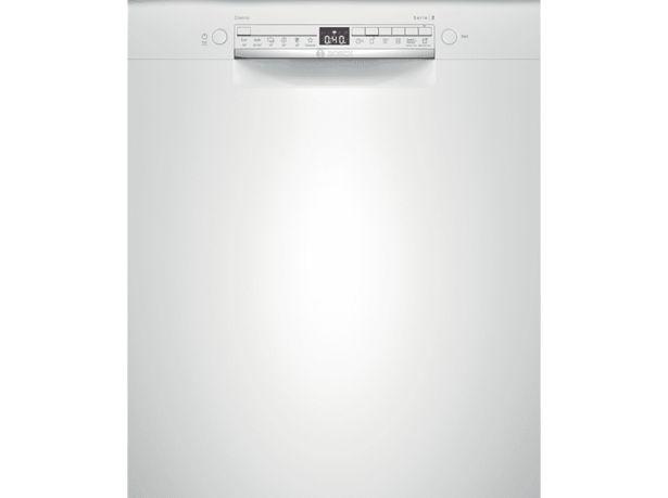BOSCH SMU2HTW70S Underbyggd diskmaskin, 60 cm - Vit för 4490 kr