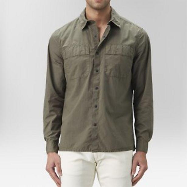 Ashton skjortjacka grön för 199 kr