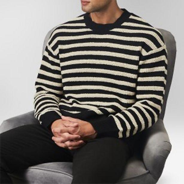 Bay randig tröja svart för 249 kr