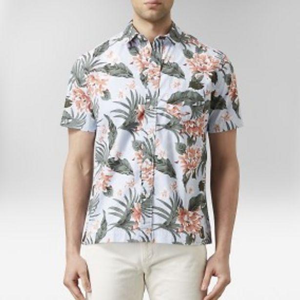 Murdock hawaiiskjorta ljusblå för 149 kr