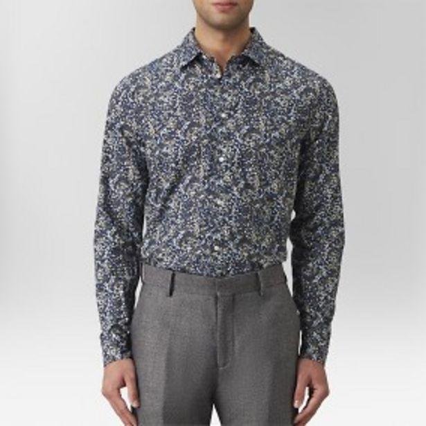 Lejsta mönstrad skjorta blå för 199 kr