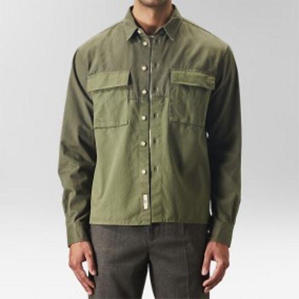 Earl block skjortjacka grön för 199 kr