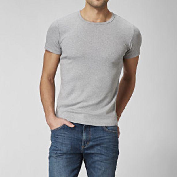 T-shirt o-neck grå för 125 kr