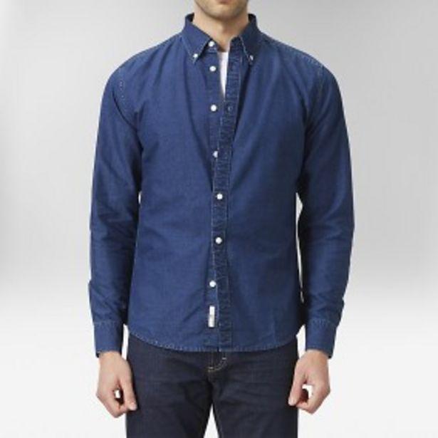 Spike oxfordskjorta indigoblå för 179 kr