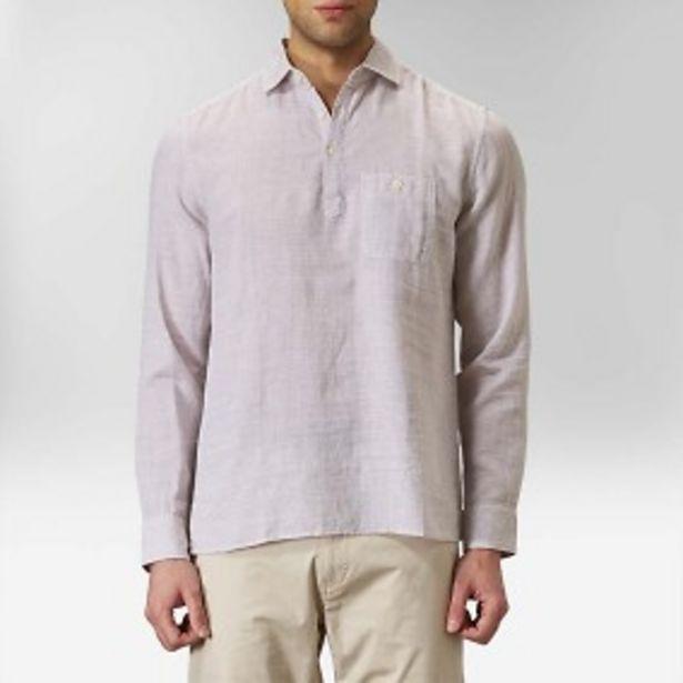 Malcolm popoverskjorta beige för 199 kr