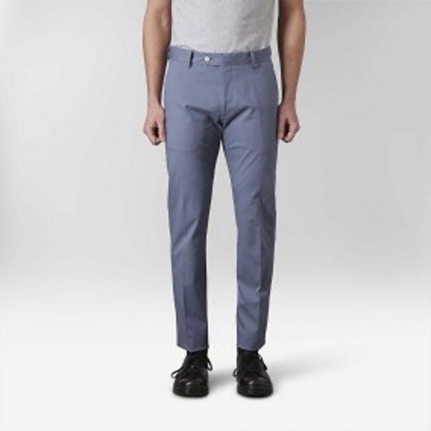 Mark dobby byxor blå för 249 kr