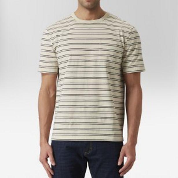 Idris oversize t-shirt beige för 99 kr