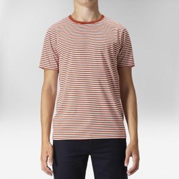 Idala randig t-shirt röd för 99 kr
