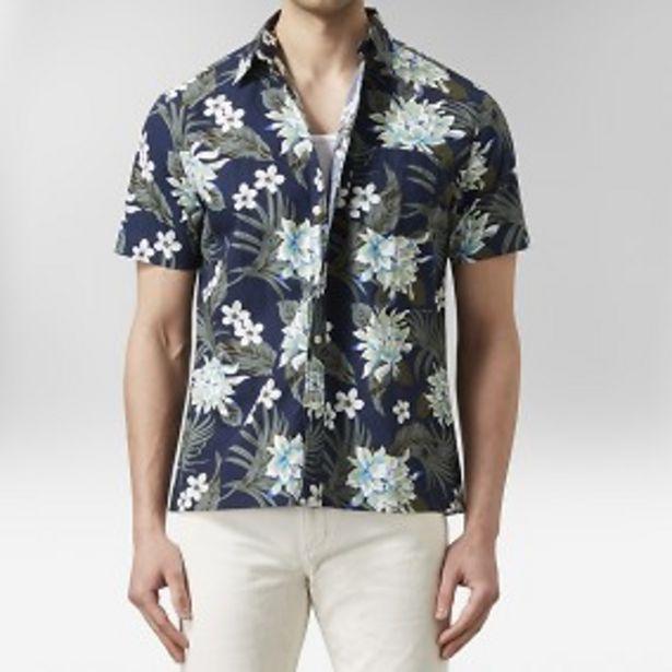 Murdock hawaiiskjorta mörkblå för 149 kr