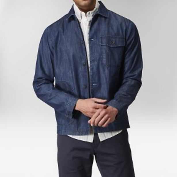 Easton skjortjacka indigo för 299 kr