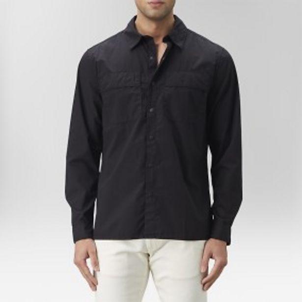 Ashton skjortjacka svart för 199 kr